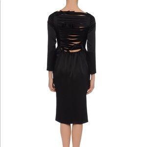 Moschino Satin Cocktail Dress size 10